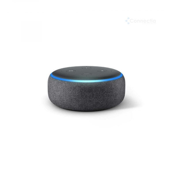 echo-dot-3-parlante-con alexa-connectia